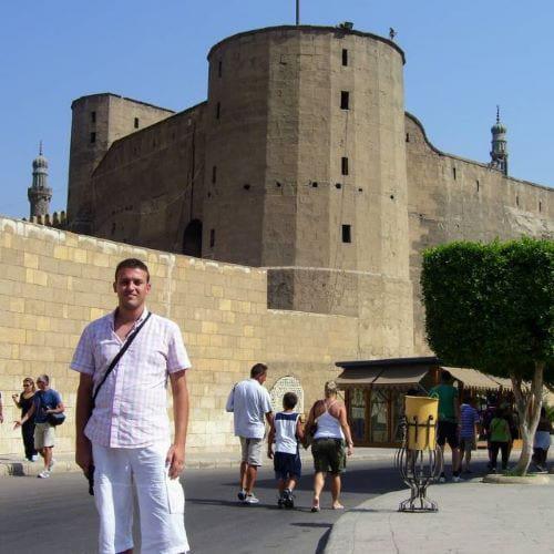 I viaggi di Mario Whitehead al Cairo