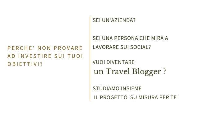 Consulenze di Mario Capobianco per diventare un Travel Blogger